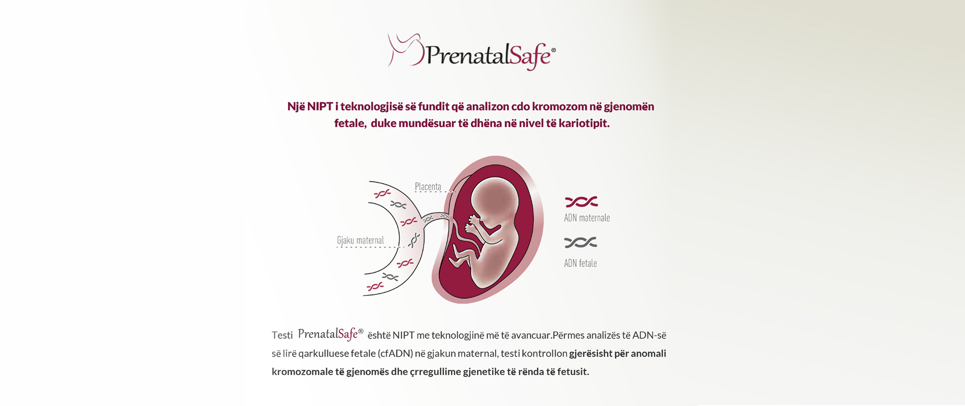 Teste Gjenetike Tirane, Analiza Gjenetike Tirane, Ekzaminime per Infertilitetin, Test NIPT, Kontroll Jo Invaziv Prenatal, Test Prenatal - StemGen Partners