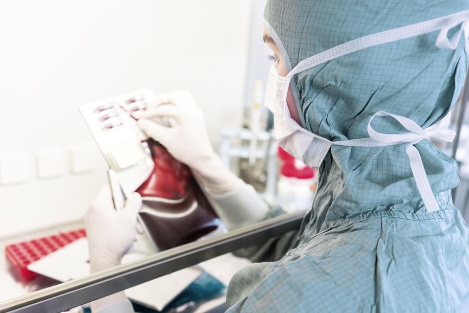 Laboratori i perpunimit te qelizave staminale skuadra e levizshme Vita 34